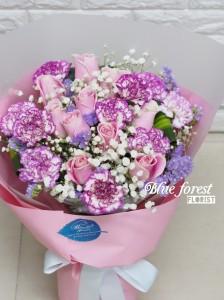 Pink lady-粉紅玫瑰花束