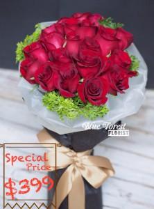 * $399每日限量優惠*肯亞玫瑰花束