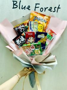 小甜心**日本零食花束(8款)