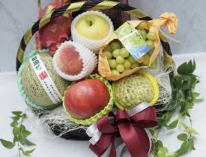 中秋進口水果籃-8款水果