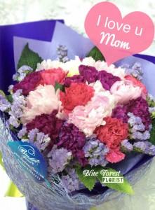 母親節2020精選-混合色康乃馨花束